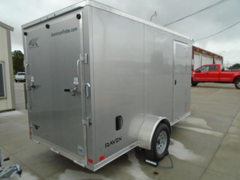 2022 Aluminum Trailer Company 6X12 ATC RAVEN LIMITED CARGO Enclosed Cargo Trailer
