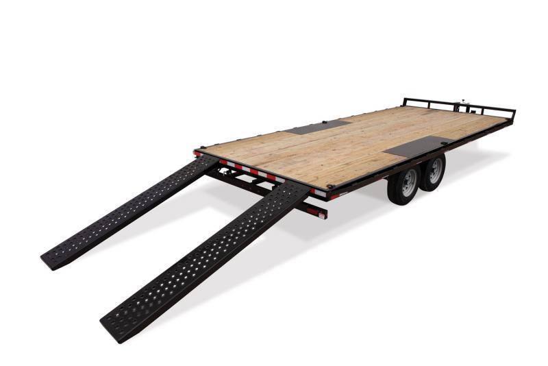 Sure-Trac 8.5 X 20 Flat Deck Deckover  10K