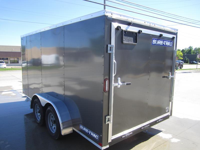 2020 Sure-Trac 7 x 14 Enclosed Wedge  Tandem Axle  7K