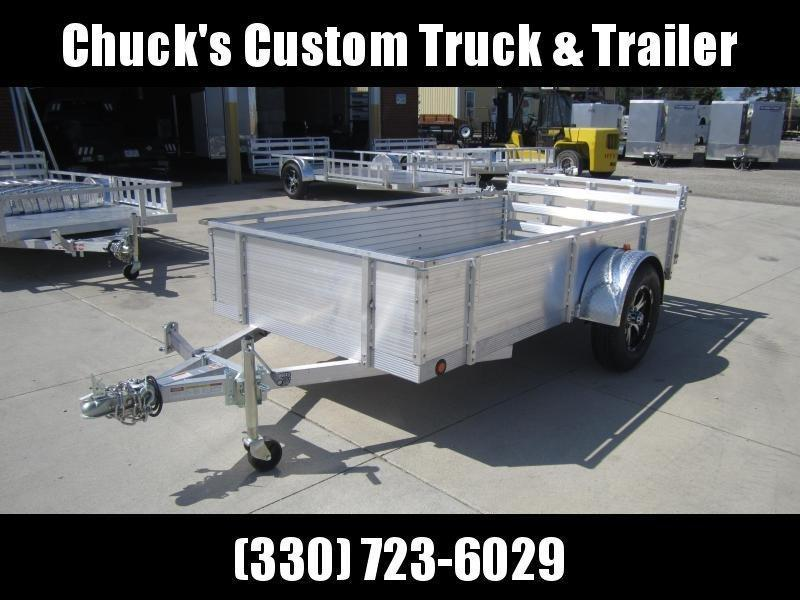 "2020 Primo 5'X10' ALL ALUMINUM 16"" HIGH SIDE Utility Trailer"