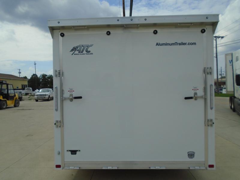 2022 Aluminum Trailer Company 8.5'X24' ALL ALUMINUM CAR HAULER Enclosed Cargo Trailer
