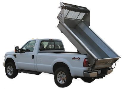 DumperDogg 8' STAINLESS STEEL DUMPER Truck Bed