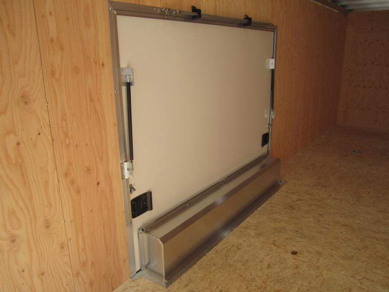 Aluminum Trailer Company  Enclosed Car Trailer