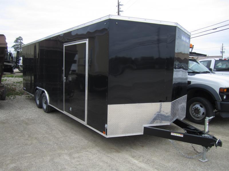2020 Sure-Trac 8.5 x 24 Enclosed Wedge Car Hauler  Tand