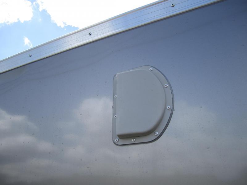 2021 ATC 6'X12' RAVEN RAMP DOOR WEDGE NOSE Enclosed Cargo Trailer