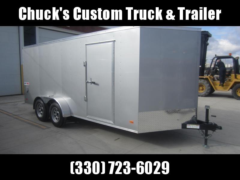 Bravo Trailers 7X16 HERO BY BRAVO RAMP DOOR Enclosed Cargo Trailer