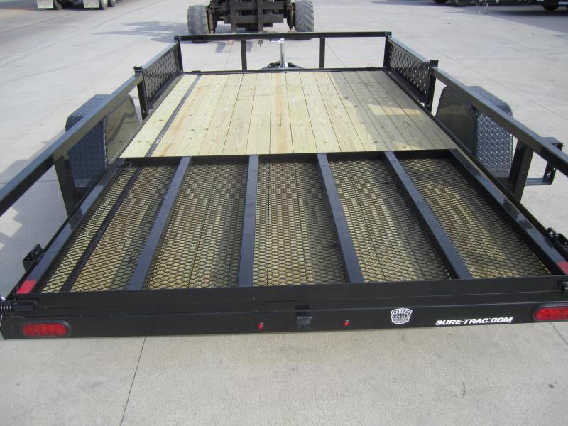 Sure-Trac 7 X 12 Tube Top ATV  3K Idler
