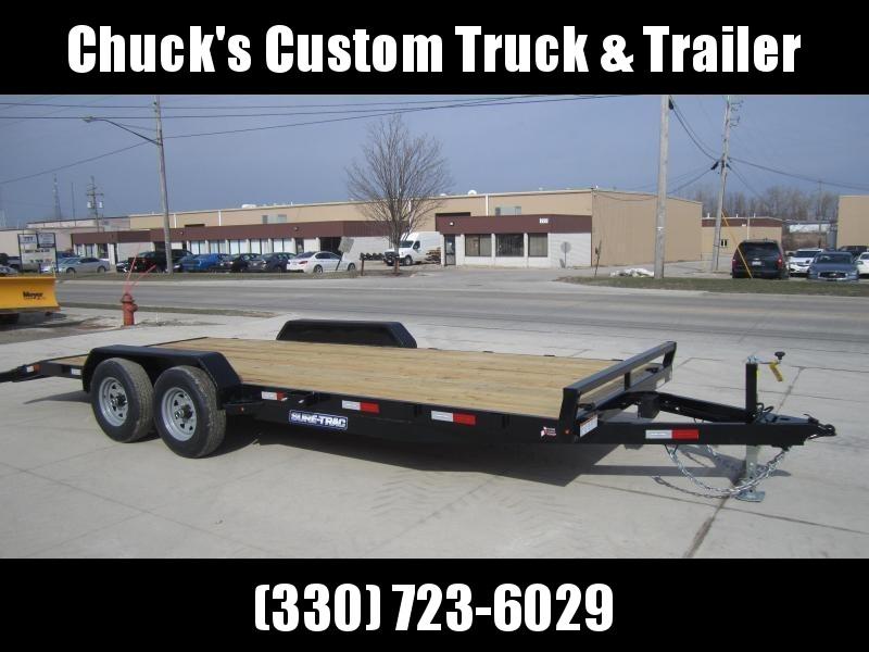 2021 Sure-Trac 7 X 20 Wood Deck Car Hauler  10k
