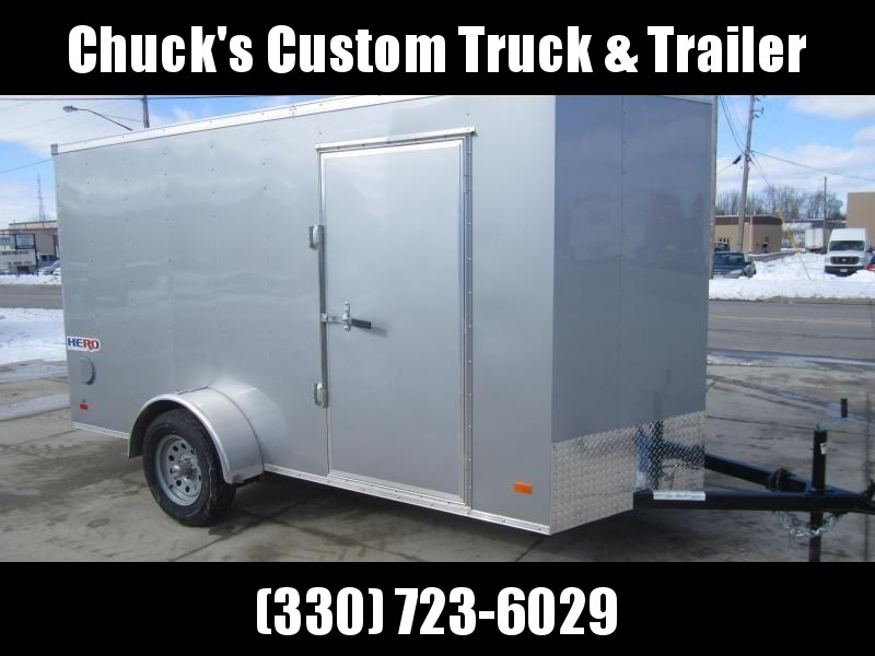 Bravo Trailers 6'X12' HERO RAMP DOOR Enclosed Cargo Trailer