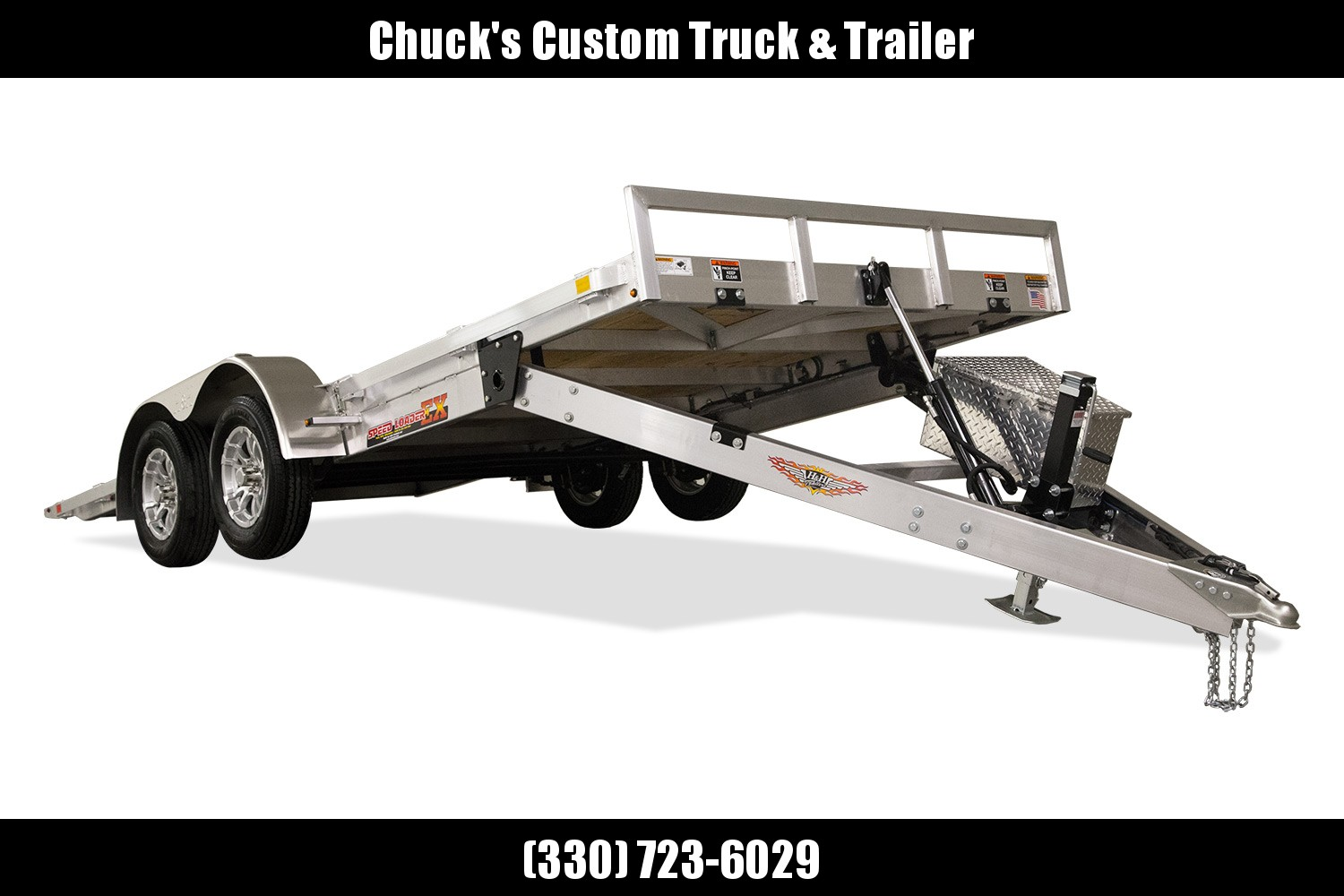 2020 H and H Trailer 82X18 ELEC. LP SPEEDLOADER ALUM 7K