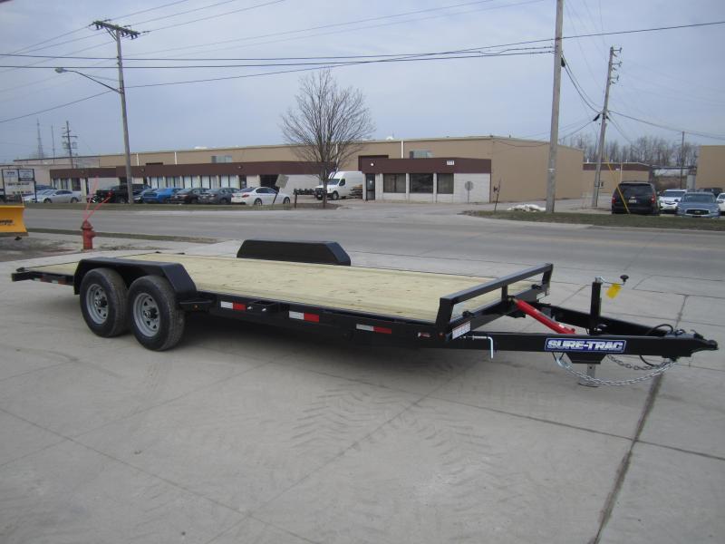 2020 Sure-Trac 7 x 20 Tilt Bed Car Hauler  10k