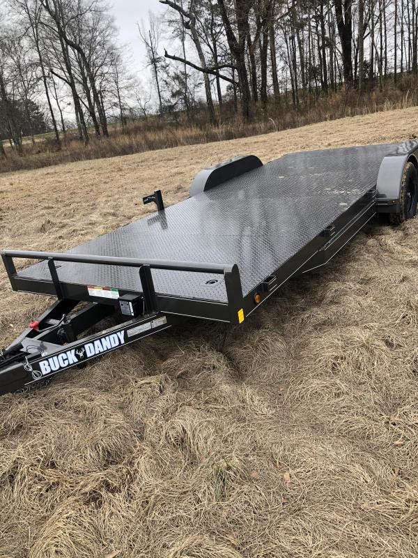 "2021 Buck Dandy 83""x20' Car / Racing Trailer"