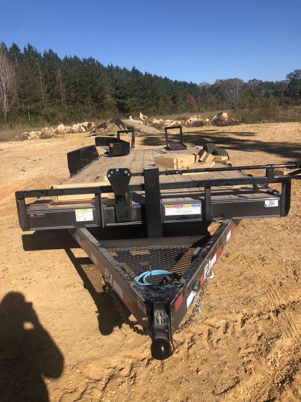 2021 PJ Trailers CC202 Equipment Trailer