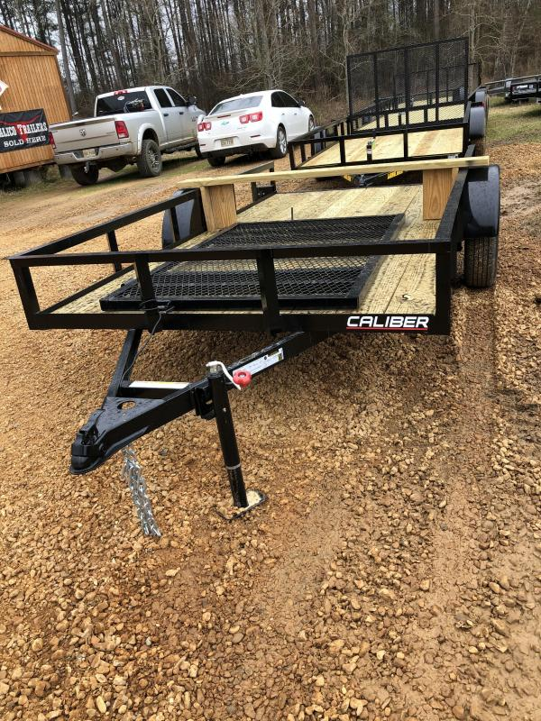 2021 Caliber Trailer Mfg EAGH612 Utility Trailer