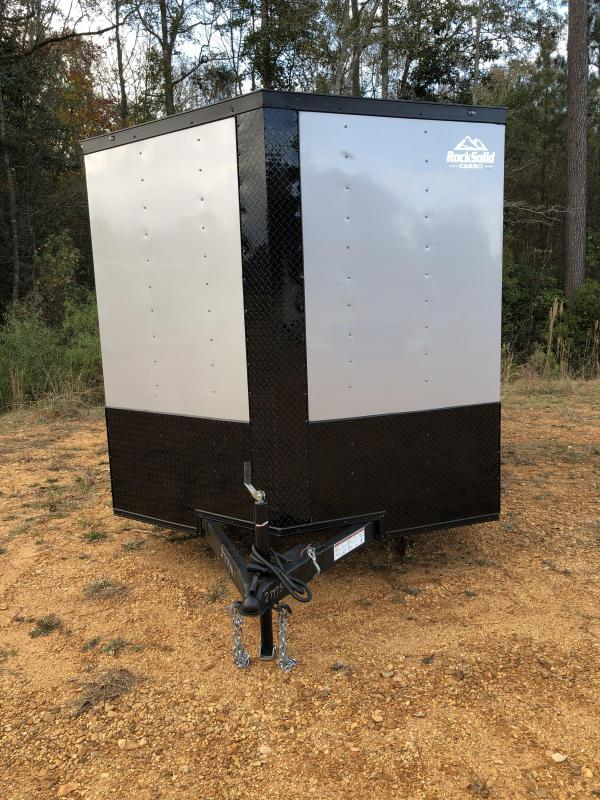 2021 Rock Solid Cargo 7x14 TA Enclosed Cargo Trailer