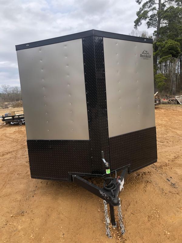 2021 Rock Solid Cargo 7x14 TA Enclosed Cargo Trailer
