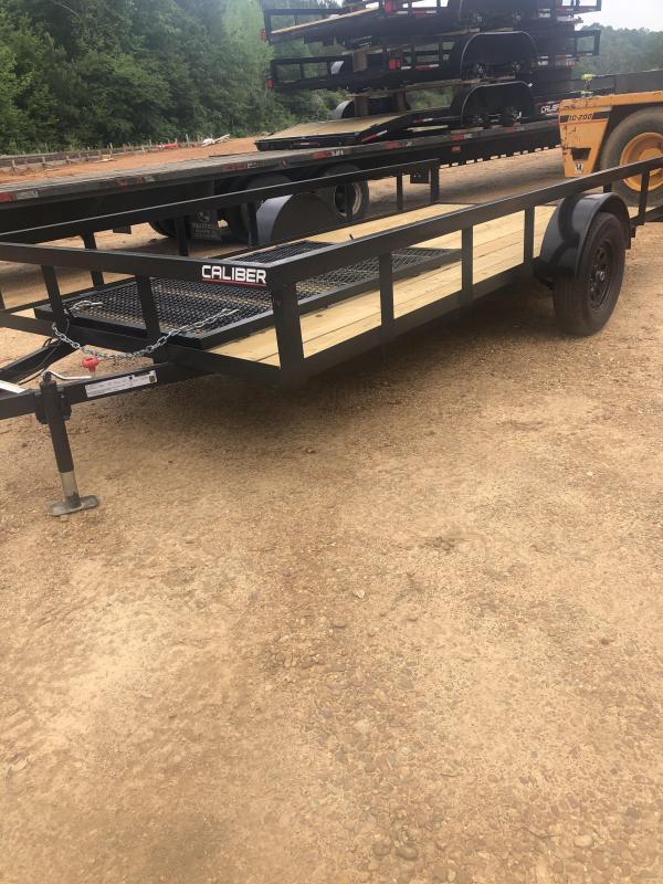 2021 Caliber Trailer Mfg AG654 Utility Trailer