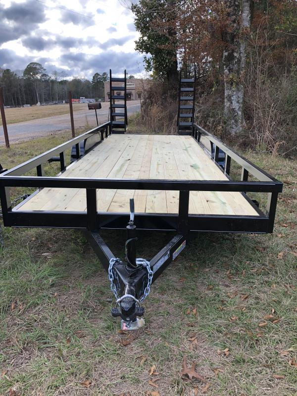 """2020 Other 6'10""""x20' Flatbed Trailer"""