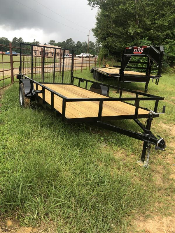 2021 Other 6'x14' Utility Trailer