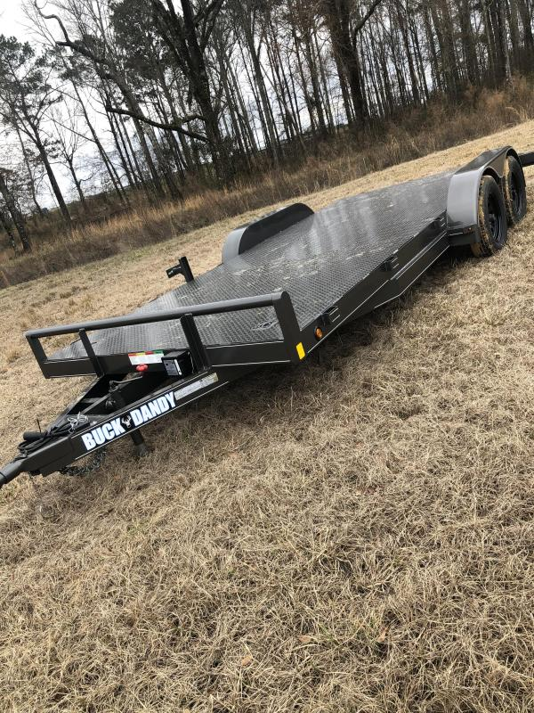 "2021 Buck Dandy 83""x18' Car / Racing Trailer"