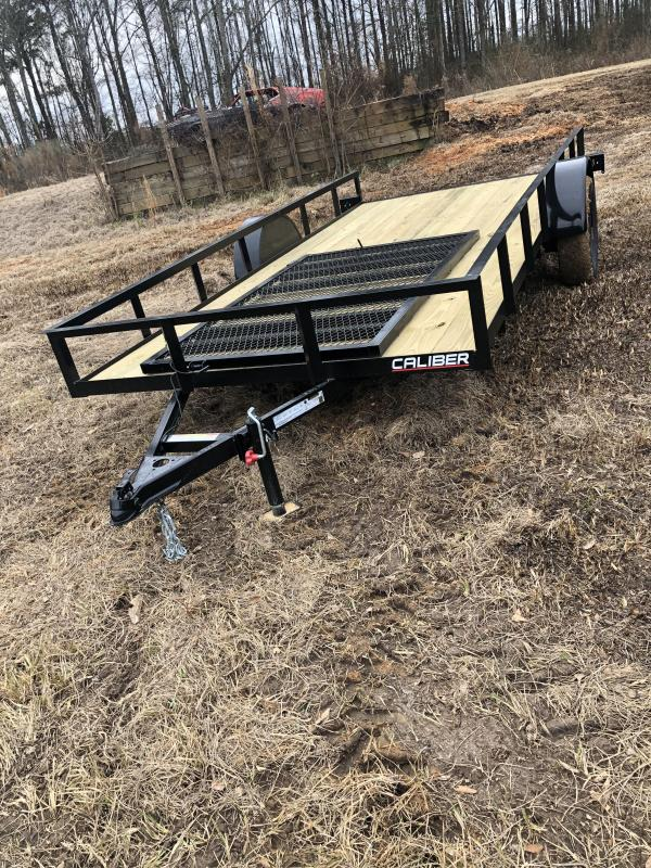 2021 Caliber Trailer Mfg EAGH654 Utility Trailer