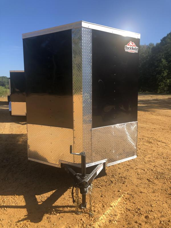 2021 Rock Solid Cargo 6x10 Enclosed Cargo Trailer