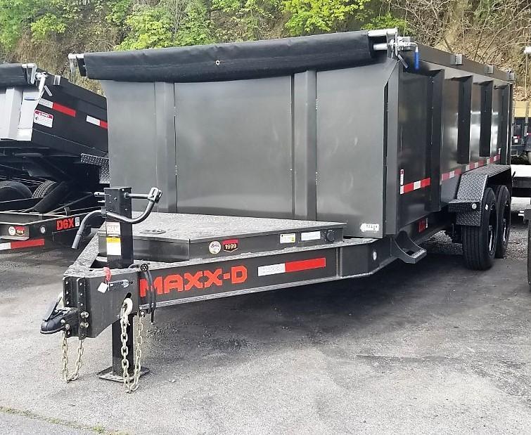 2021 MAXXD 7X16 Dump Trailer