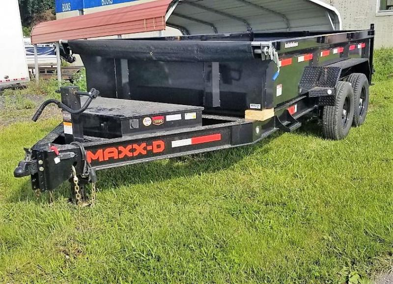 2021 MAXXD 7X14 DKX 2'SIDES 14K Dump Trailer