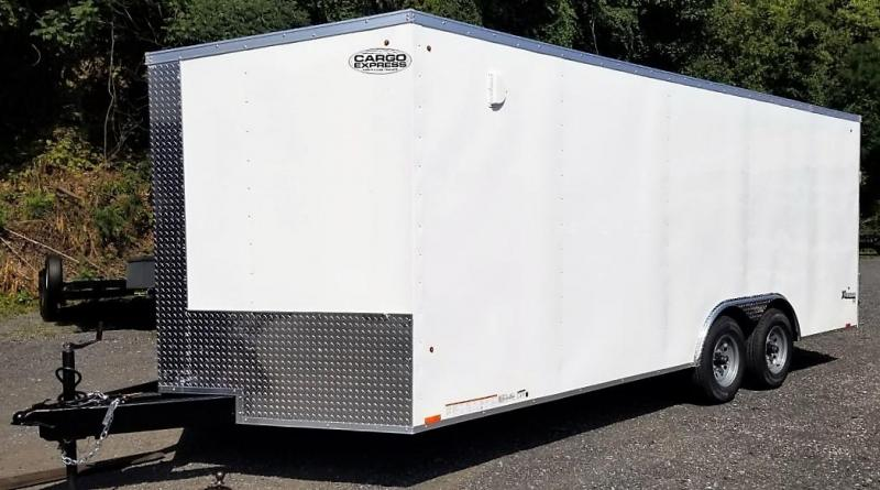 2021 Cargo Express 8.5 X 20 Enclosed Cargo Trailer