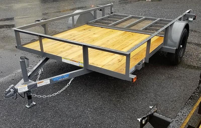 2022 Top Hat Trailers 6.5X10 Utility Trailer