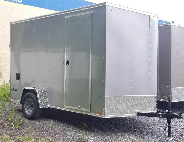 2021 Cargo Express 6x12 Enclosed Trailer w/Ramp Door 7ft