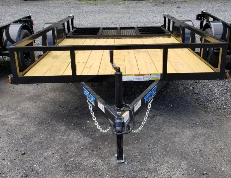 2021 Top Hat Trailers 6.5x12 Utility Trailer