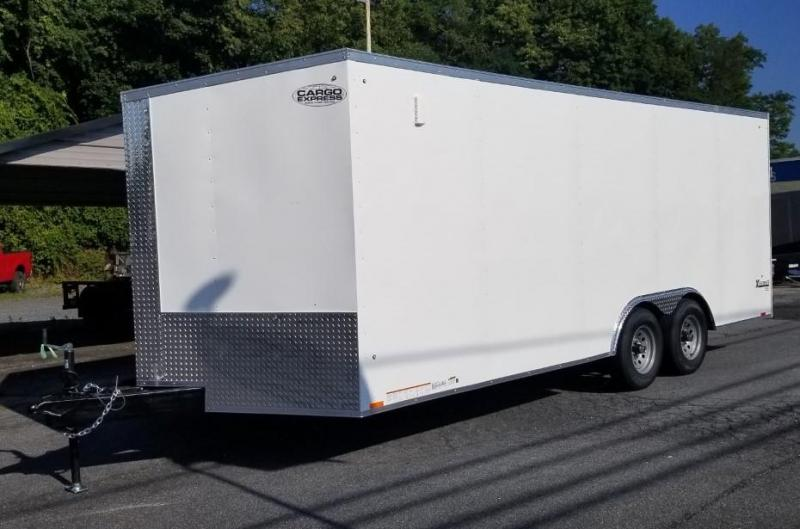2021 Cargo Express 8.5x20 Enclosed Trailer w/Ramp