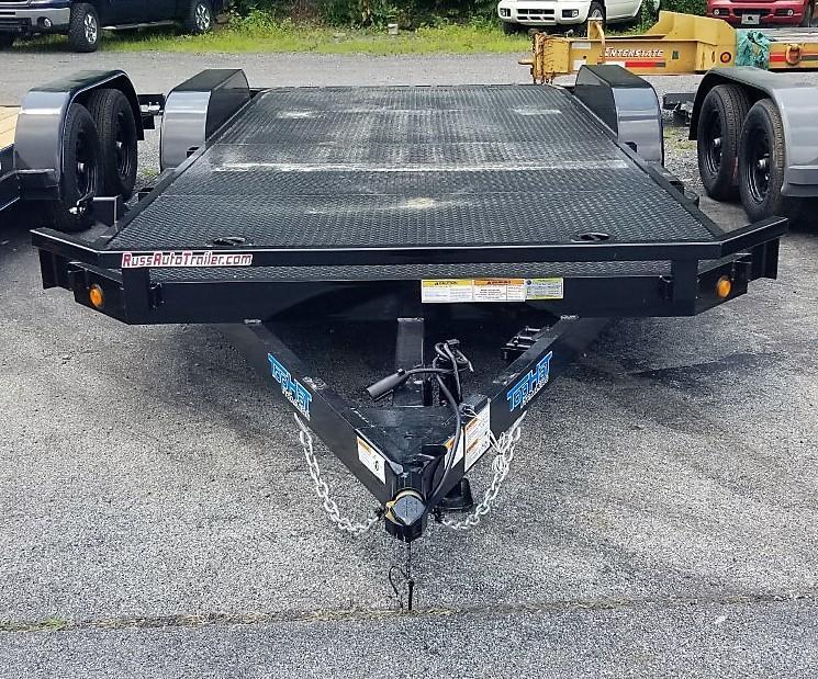 2021 Top Hat Trailers 7X18 STEEL DECK 7K Car / Racing Trailer