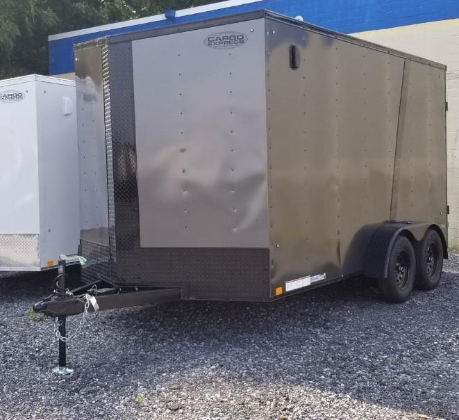 2021 Cargo Express 7X14 Enclosed Cargo Trailer W/RAMP DOOR