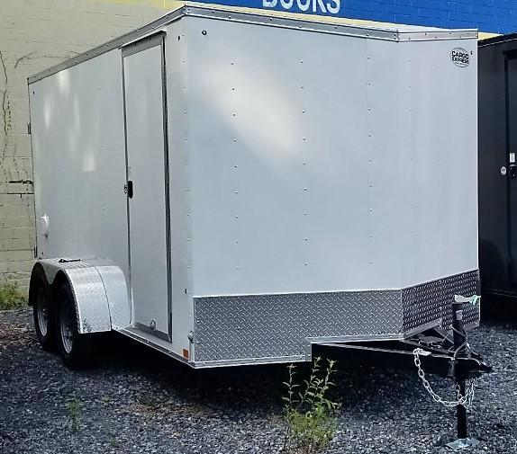 2021 Cargo Express 7X14 Enclosed Cargo Trailer W/DOORS