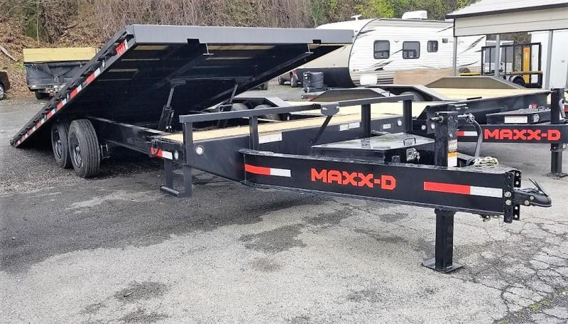 "2021 MAXXD 24'X102"" TOX Deckover Trailer"