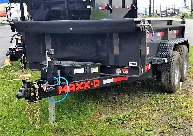 2021 MAXXD 6X10 D7X Dump Trailer