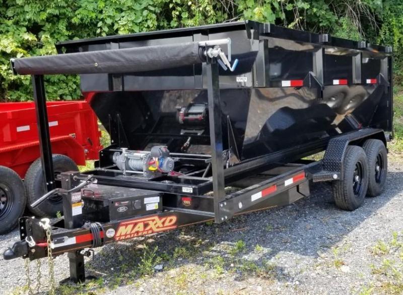 2020 MAXXD 7X14 ROLL-OFF DUMP Dump Trailer W/1 BIN