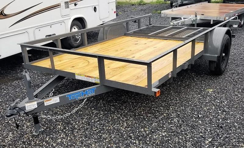 2022 Top Hat Trailers 6.5X12 Utility Trailer