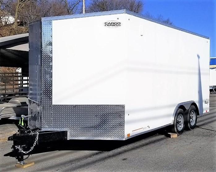 2022 Cargo Express 8.5x16 Enclosed Cargo Trailer