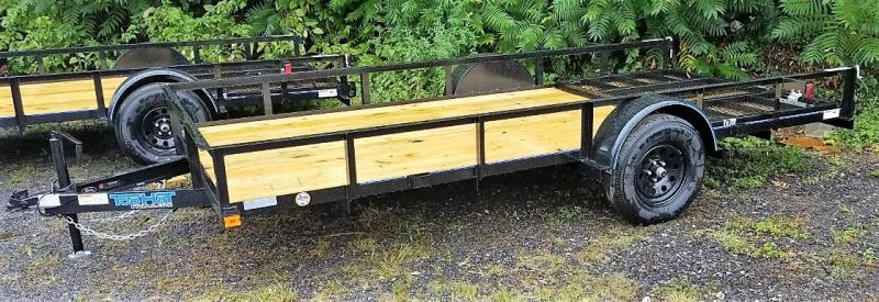 2022 Top Hat Trailers 6.5X14 Utility Trailer