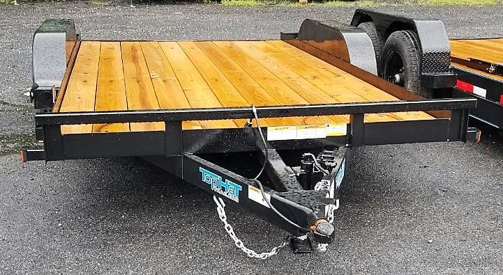 2020 Top Hat 7x14 Carhauler 7K Slide-In Ramps