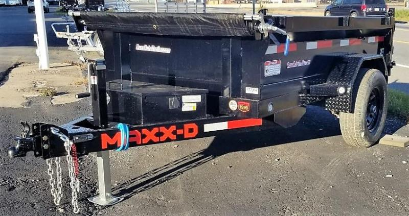 2021 MAXXD 5X8 D5X Dump Trailer