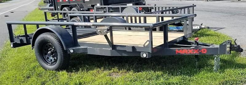 2022 MAXXD 5X10 S3X PIPE RAIL Utility Trailer