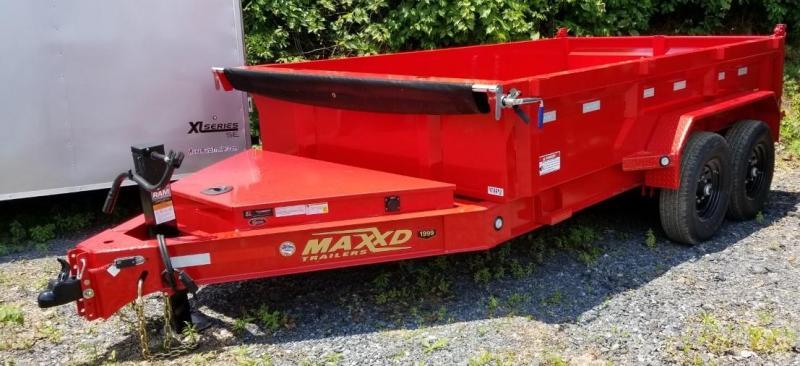 2020 MAXXD 7 X 12 Dump Trailer DJX 14K