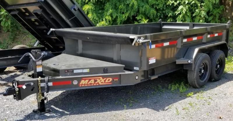 2020 MAXXD 7X12 Dump Trailer  DJX 14K