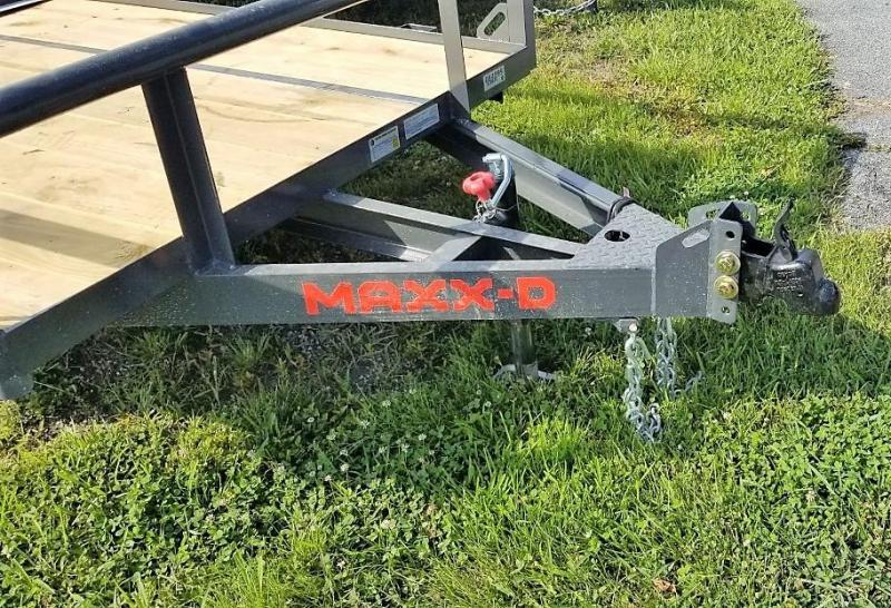 2021 MAXXD 5X10 S3X PIPE RAIL Utility Trailer