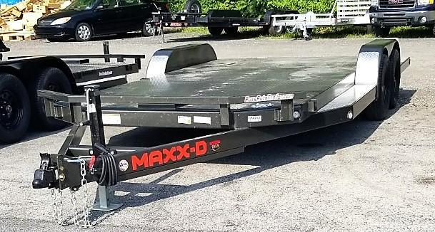 2021 MAXXD 7X18 N5X 7K Car / Racing Trailer