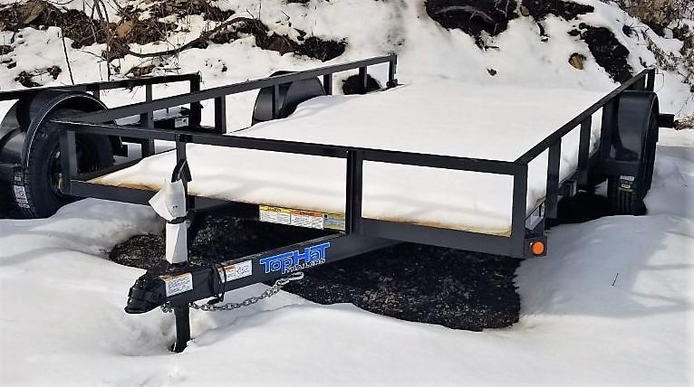 2021 Top Hat Trailers 7X14 Utility Trailer